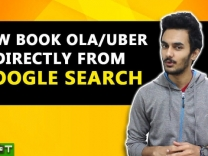 Book Ola or Uber Through Google Search from your Smartphones