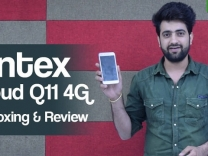 Intex Cloud Q11 4G Unboxing and Review