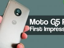Moto G5 Plus First Impressions