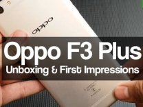Oppo F3 Plus Unboxing and First Impressions