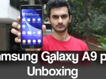 Samsung Galaxy A9 pro Unboxing