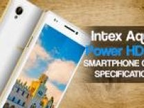 INTEX AQUA POWER HD 4G SMARTPHONE SPECIFICATIONS