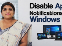 How to disable or control notifications on Windows 10