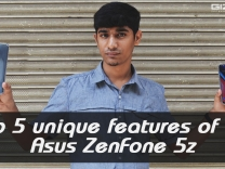 Top 5 unique features of the Asus ZenFone 5z