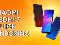 Xiaomi Redmi 7 quick unboxing