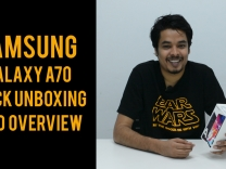 Samsung Galaxy A70 quick unboxing and overview
