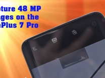 How to take 48 MP images on the OnePlus 7 Pro?