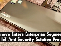 Lenovo Enters Enterprise Segment With IoT And Security Solution Products