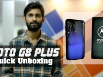 Moto G8 Plus Quick Unboxing