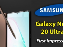 Samsung Galaxy Note 20 Ultra First Impressions: Design, Display, Gameplay & Camera Samples