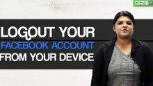 How to log out your Facebook account from anywhere