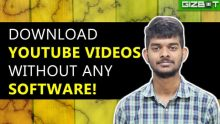 Easily Download YouTube Videos without any Software!