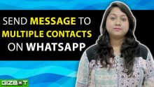 WhatsApp: Send Message to Multiple Contacts on WhatsApp