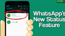 WhatsApp : Here's how WhatsApp's Status feature works