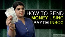 How to send money using Paytm Inbox