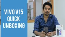 Vivo V15 quick unboxing