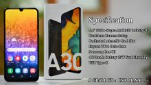 Samsung Galaxy A30 Quick Unboxing and Features