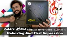 Xmate Mana Wireless Bluretooth Headphone Unboxing And First Impression