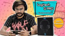 Logitech G PRO Gaming Headsets First Impression And Unboxing; Amazing Gaming Headphones