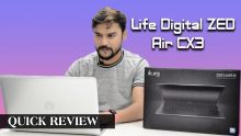 Life Digital ZED Air CX3  Laptop Quick Review