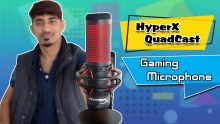 HyperX QuadCast Gaming Microphone Unboxing And First Impression