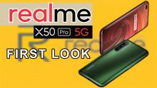India's First 5G Smartphone: Realme X50 Pro First Look