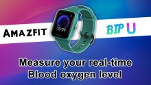 How to measure blood oxygen level using SpO2 sensor on the Amazfit BIP U
