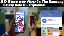 3D Scanner App On The Samsung Galaxy Note 10+ Explained