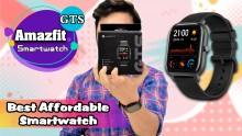 Amazfit GTS Smartwatch Unboxing And First Impression: Best Affordable Smartwatch
