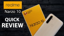 Realme Narzo 10 Quick Review: Design, Display, Camera Samples, Gaming And Battery Performance