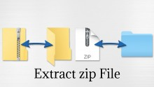 How To Extract Files From Zip Folder