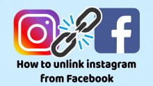 How To Unlink Your Instagram Account From Facebook