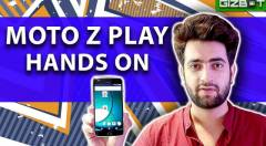 Moto Z Play Hands On
