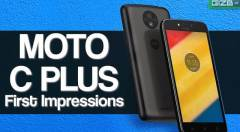 Moto C Plus First Impressions
