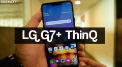 LG G7 plus ThinQ Unboxing and First Impressions