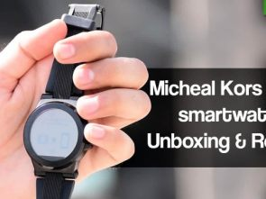 Micheal Kors Dylan Smartwatch Unboxing and Review