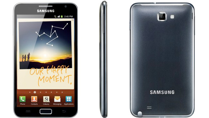 Samsung Galaxy Note N7000 Photos