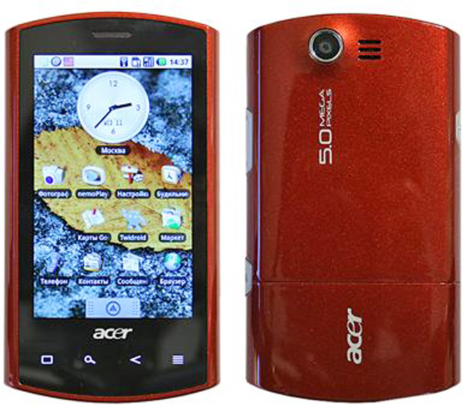Acer Liquid E Photos