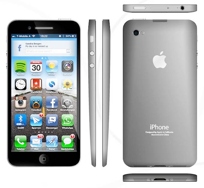 Apple iPhone 5 Concept Photos