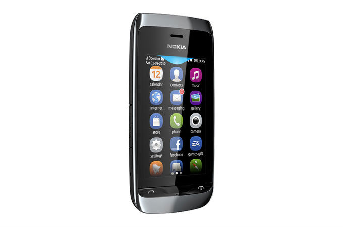 Gallery: Nokia Asha 309 Singal SIM Mobile Phone Photos