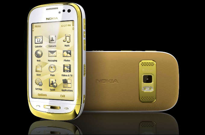 Luxury smartphones 2012: 10 DroolWorthy Gold Handsets! Photos