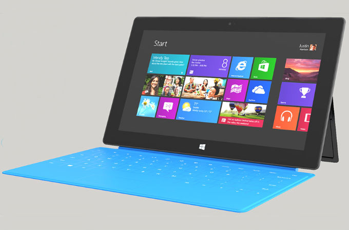 Microsoft Surface RT/PRO Tablet PC Photos