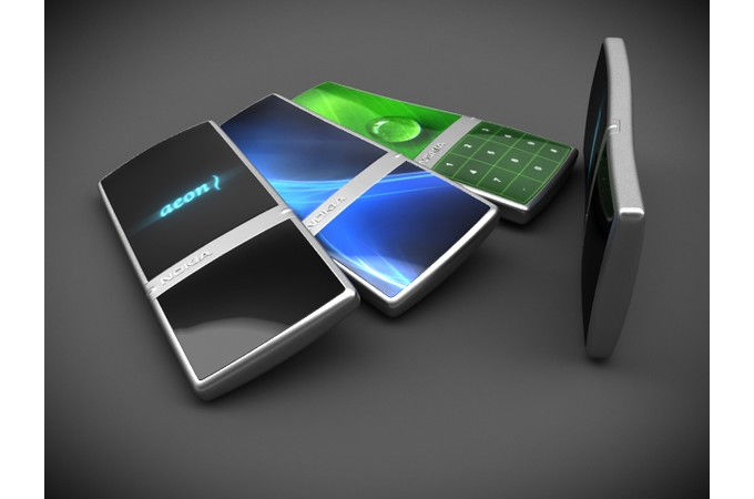 Nokia future Mobile Phones Concepts Photos