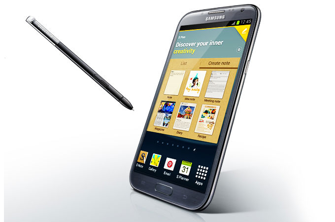 Samsung Galaxy Note 2 Photos