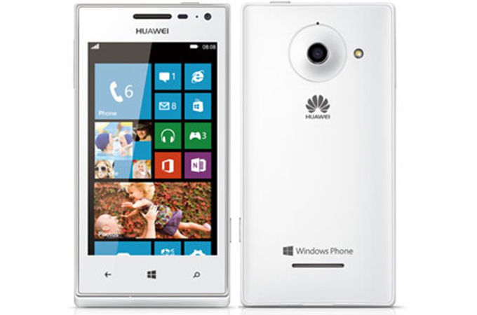 Huawei Ascend W1 Photos