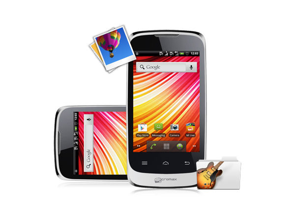 Micromax Bolt A51 Photos