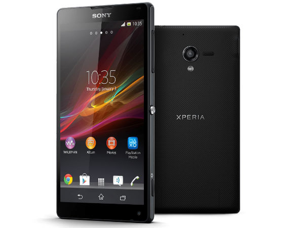 Sony Xperia ZL Photos