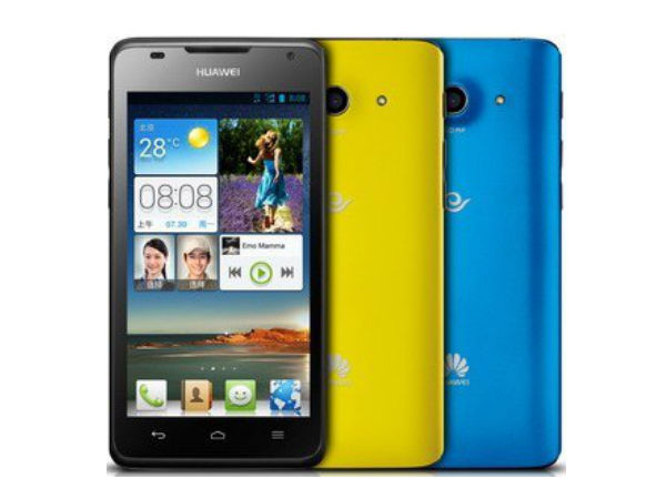 Huawei Ascend G510 Photos
