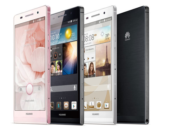 Huawei Ascend P6 Photos