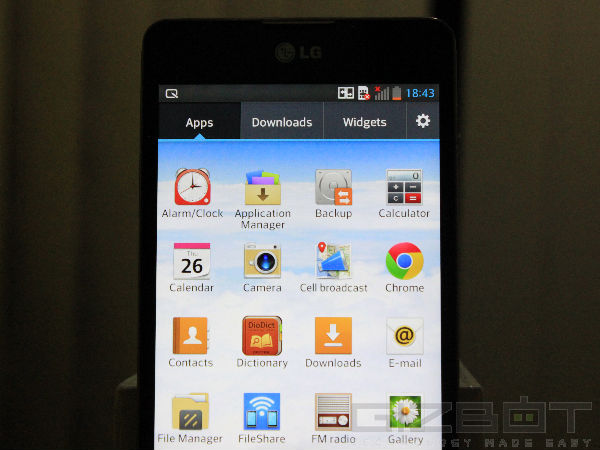 LG Optimus G: Review Photos